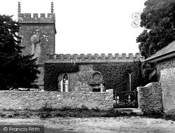 St Osmond's Church c.1955, Melbury Osmond