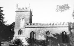 St Osmond's Church c.1960, Melbury Osmond