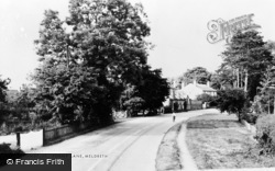 Meldreth, Fenny Lane c.1965