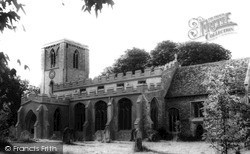 Meldreth, Holy Trinity Church c.1965