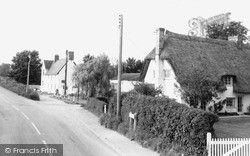 Meldreth, Station Road c.1965