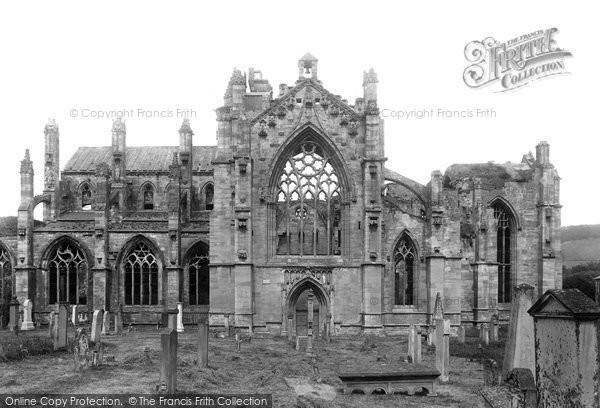 Photo of Melrose, Abbey 1897, ref. 39195