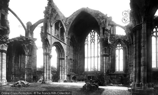 Photo of Melrose, Abbey 1897, ref. 39196