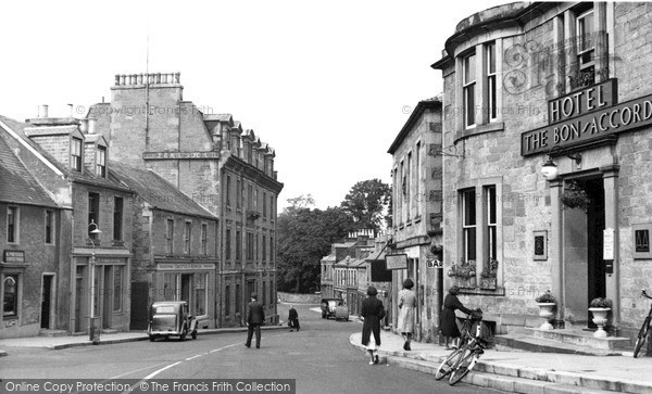 Photo of Melrose, High Street c1955, ref. M58010
