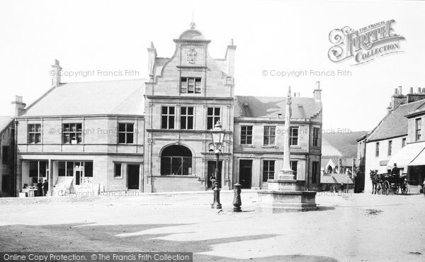 Photo of Melrose, Market Place and Old Cross 1897, ref. 39197