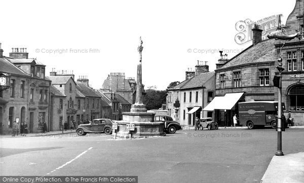 Photo of Melrose, Market Square c.1955