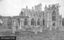 The Abbey c.1890, Melrose