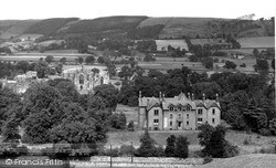 The Abbey From Gallows Brae c.1955, Melrose
