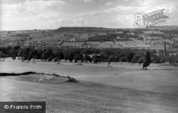 Meltham, And Golf Course From Wilshaw c.1955