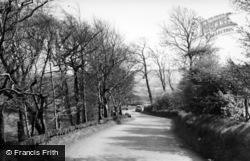 Meltham, Slades Lane c.1955