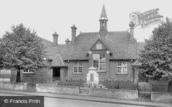 Melton Constable, The School And War Memorial 1922