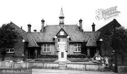 Melton Constable, The School c.1955