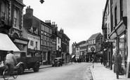 Melton Mowbray, Nottingham Street c1955