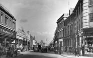 Melton Mowbray, Sherrard Street c1955
