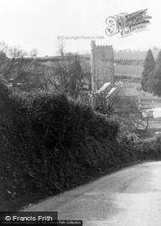 Membury, Church c.1955