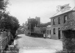 Membury, In The Village 1902