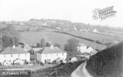 Membury, Village c.1955