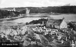 Menai Bridge, And Llandysilio c.1880