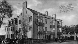 Menai Bridge, Anglesey Arms Hotel c.1955