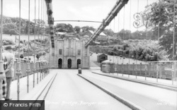 Menai Bridge, Bangor Side c.1955