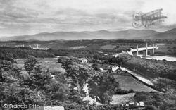 Menai Bridge, Bridges From The Mount 1890