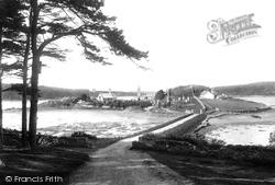 Menai Bridge, Britannia Bridge 1894