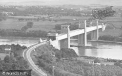 Menai Bridge, Britannia Tubular Bridge c.1870