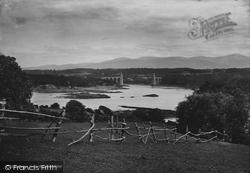 Menai Bridge, From Holyhead Road 1890