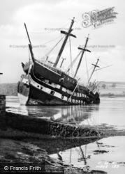Menai Bridge, HMS Conway 1953