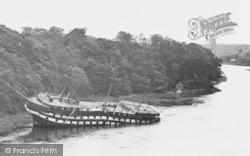 Menai Bridge, HMS Conway c.1953