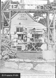 Menai Bridge, Jones' Tea Gardens c.1955