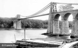 Menai Bridge, Suspension Bridge 1890