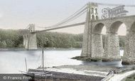 Menai Bridge, Suspension Bridge 1890
