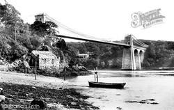 Menai Bridge, Suspension Bridge 1891