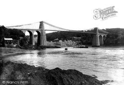 Menai Bridge, Suspension Bridge 1908