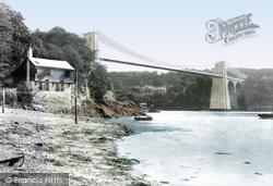 Menai Bridge, Suspension Bridge 1913