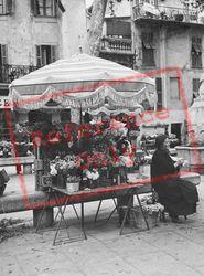 Flower Stall c.1939, Menton