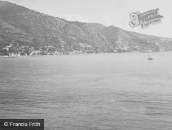 From The Sea c.1939, Menton