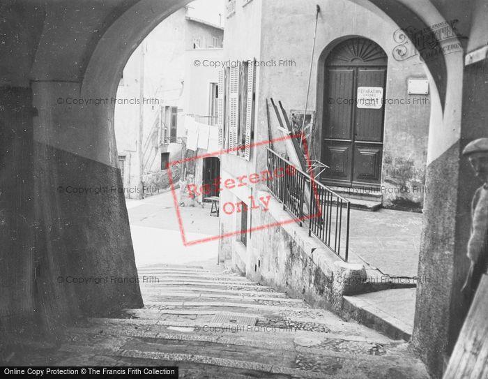 Photo of Menton, Old Town c.1939