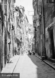 Street Scene c.1939, Menton
