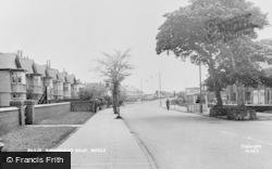 Meols, Birkenhead Road c.1955