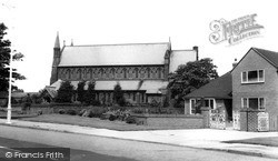 Meols, Church Of St John The Baptist c.1965