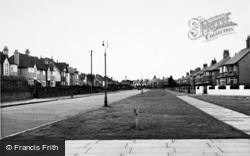 Meols, Forest Road c.1960