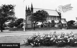 Meols, St John's Church c.1965