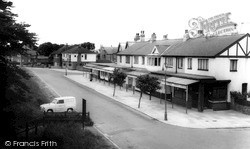 Meols, Station Approach c.1965