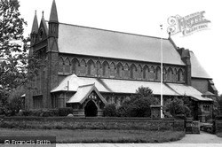 Meols, The Church Of St John The Baptist c.1955