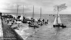 Meols, The Dinghy Slipway c.1965