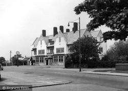 Meols, The Railway Inn c.1955