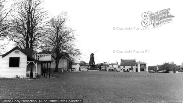 ,Meopham, the Green and Windmill c1960, Kent,