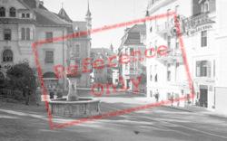 A Quiet Square c.1938, Merano